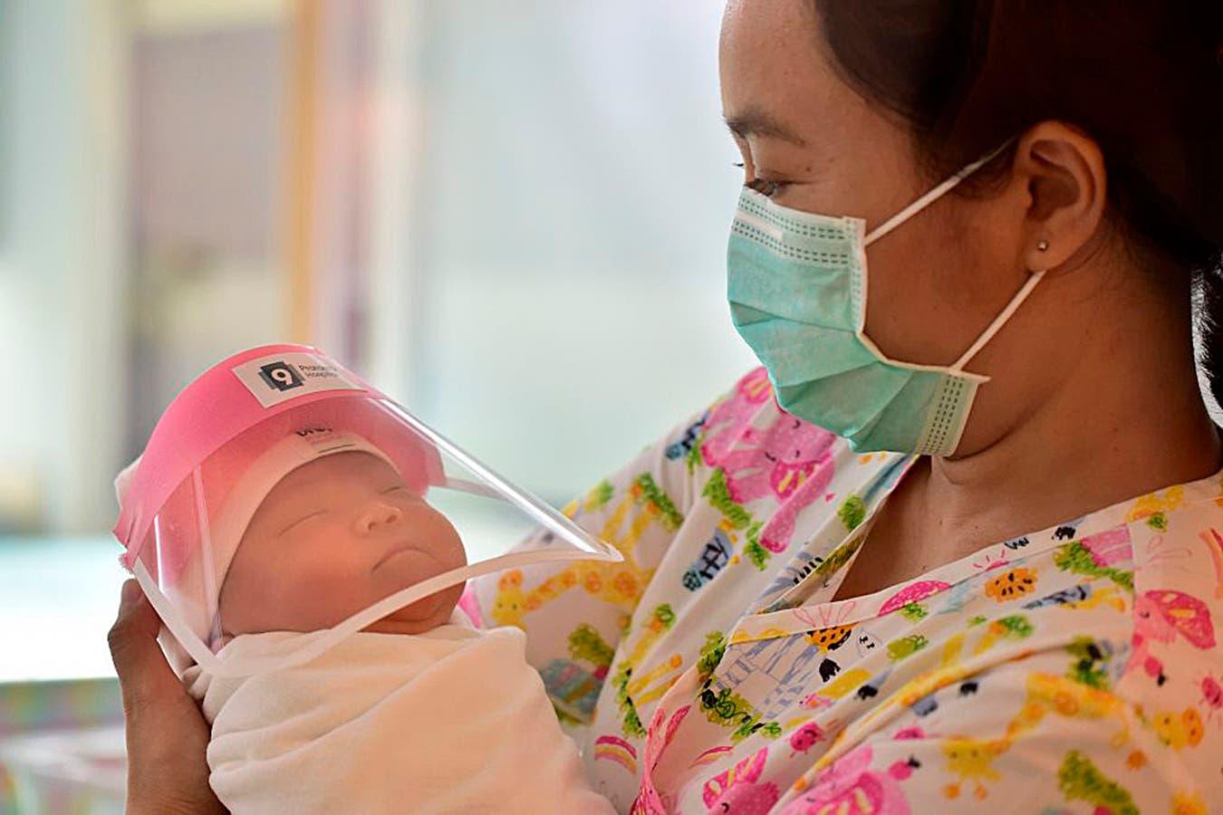 Bebe nacido en pandemia