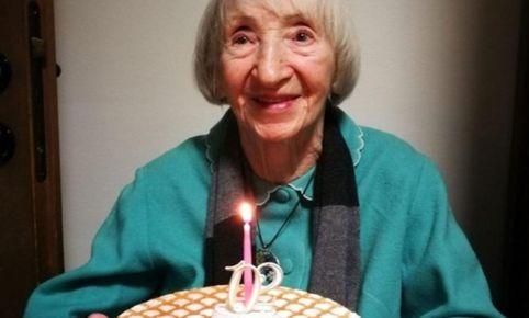 Mujer de 102 años
